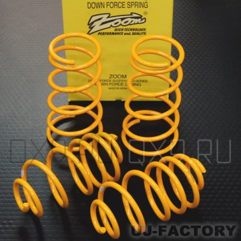 force and spring It's about springs — coil springs — the kind of spring found in a car's suspension or a retractable pen the spring force pushes back in the positive.