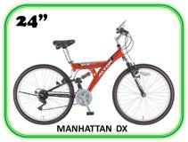 велосипед ALPHA MANHATTAN DX 24