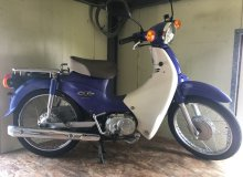 мопед HONDA SUPER CUB 110 FUEL INJECTION JA07-1