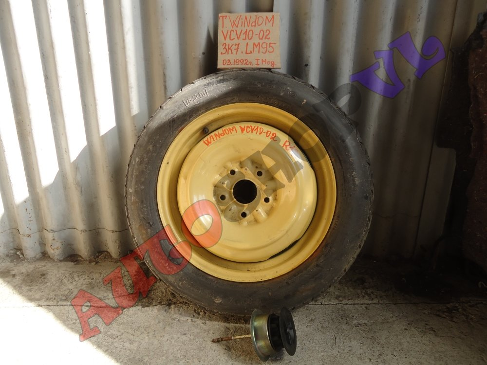 Запасное колесо (запаска банан) TOYO T145/80 R16