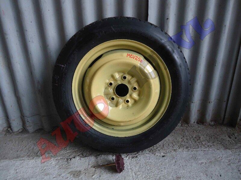 Запасное колесо (запаска банан) Bridgestone T145/80R16