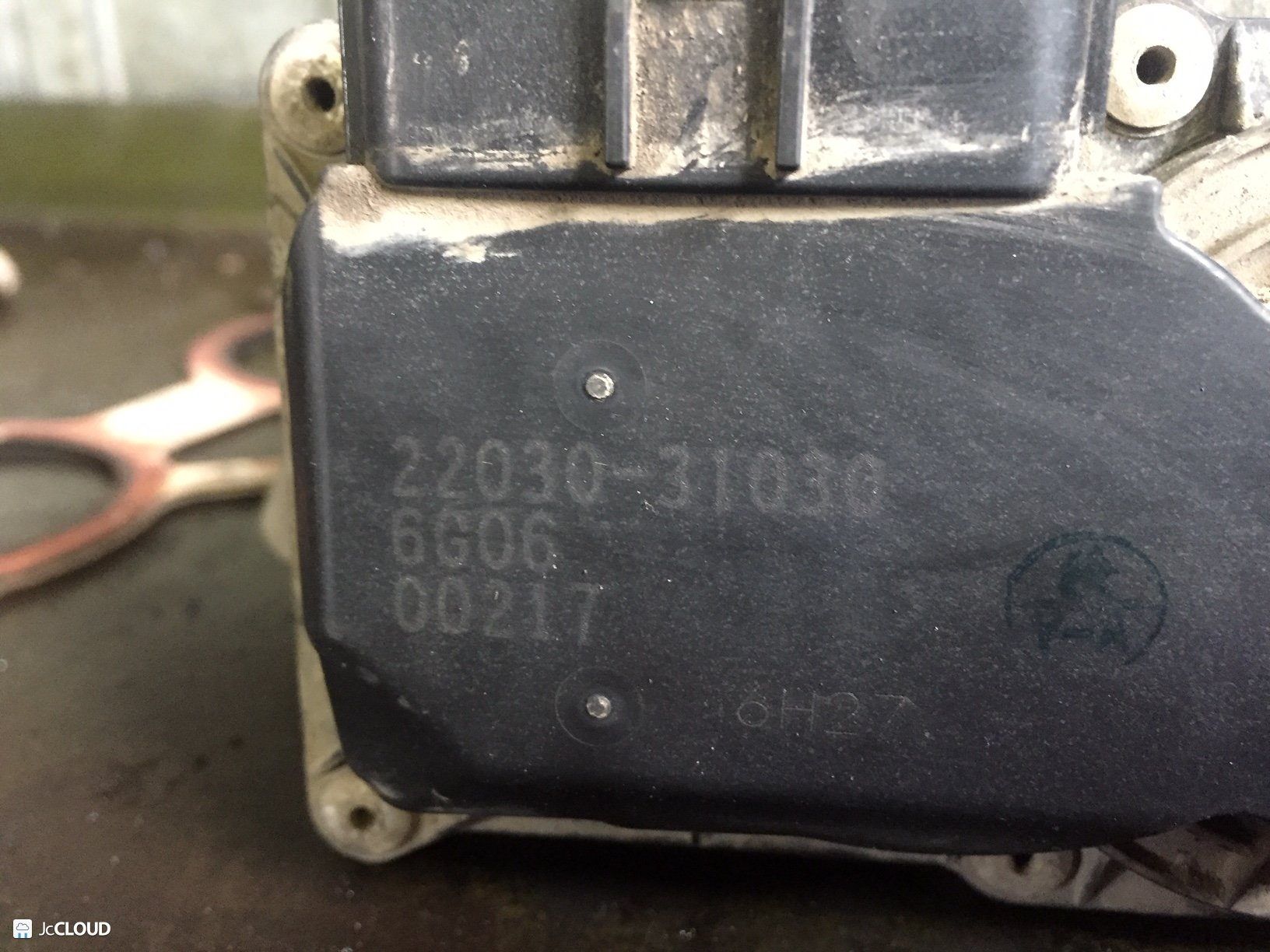 дроссельная заслонка LEXUS RX350 Омск