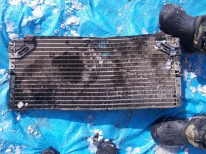 Радиатор кондиционера на Toyota Sprinter Carib AE95 4A-FHE