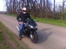 мотоцикл HONDA CBR600F4I