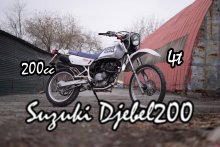 эндуро SUZUKI DJEBEL200