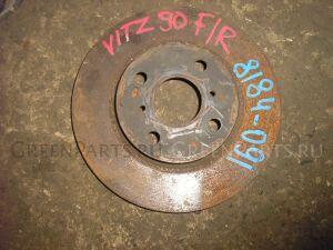 Тормозной диск на Toyota Vitz KSP90 1KR-FE 5059201