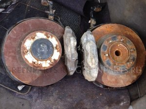 Подшипник ступицы на Toyota PRADO 120 , 121 , 125 .