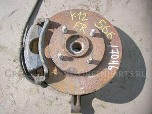 Тормозной диск на Nissan Wingroad Y12