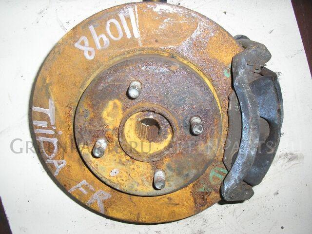 Тормозной диск на Nissan Tiida C11