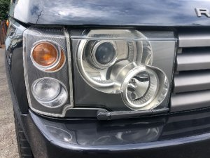 Фара на Land Rover Range Rover L322