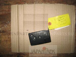 Ключ зажигания на Nissan Teana PJ31