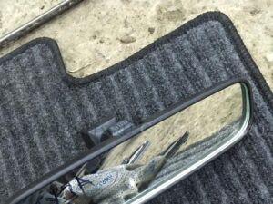 Зеркало салона на Mitsubishi Lancer X CY4A CY3A CY2A