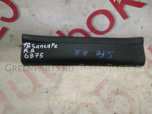 Накладка на порог на Hyundai Santa Fe CM D4EB 858762b000