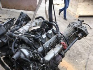 Двигатель на Toyota Crown Majesta UZS173 1UZ-FE
