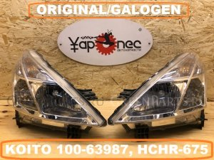 Фара на Nissan Teana J32 VQ25(DE) KOITO 100-63987, HCHR-675, 26075JN20A