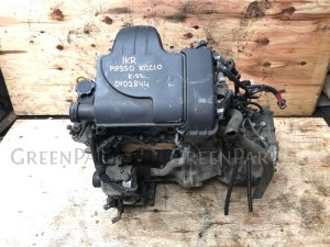 Двигатель на Toyota Passo KGC10 1KR 30000 Без навесного.