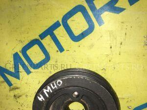 Шкив коленвала на Mitsubishi Pajero PD8W 4M40