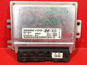 Блок управления двигателем на Hyundai Tucson JM G4GC2.0DOHCбензин, 1975куб.см., 137-141л.с., (101- 3918123230