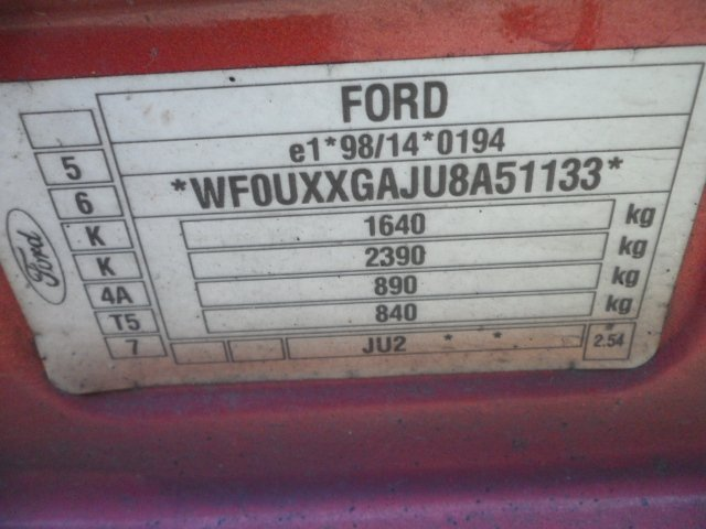 Радиатор на Ford Fusion F6JA/F6JB