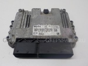 Блок управления двигателем на Opel Zafira B 2005-2012 0281014024