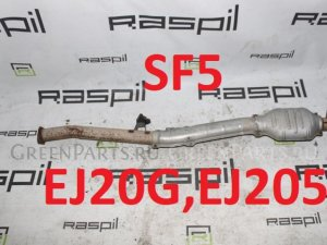 Глушитель на Subaru Forester SF5 EJ20G