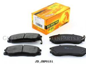 Колодки тормозные на Hyundai Santa Fe (SM) JBP0151