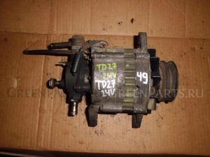 Генератор на Nissan Atlas SP4F23 TD27