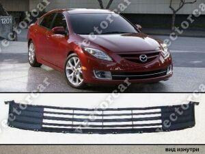 Решетка бамперная на Mazda Atenza GH5AP;GH5AS;GH5FP;GH5FS;GHEFP;GHEFS