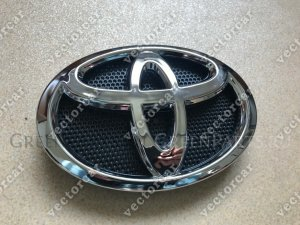 Эмблема на Toyota Hilux pick up GUN125; GUN126; GUN135; GUN136; KUN121; KUN122; KU