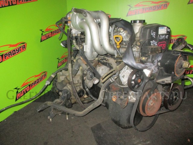 Двигатель на Toyota COROLLA, COROLLA II, CORSA, CYNOS, SPRINTER, STARL EE101, EE111, EL41, EL51, EL52, EP82, EP85, EP91, 4E-FE
