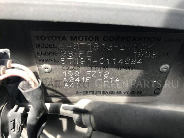 Тормозные колодки на Toyota Carina AT210