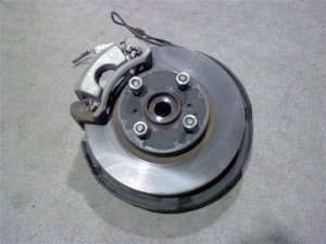 Ступица на Toyota Vitz KSP90 1KRFE