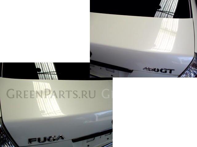 Крышка багажника на Nissan Fuga GY50 VK45DE