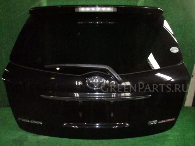 Дверь задняя на Toyota Corolla Fielder NZE141G 1NZ-FE