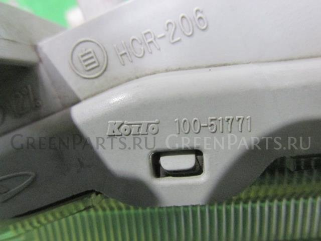 Фара на Daihatsu Hijet S321V KF-VE 100-51771
