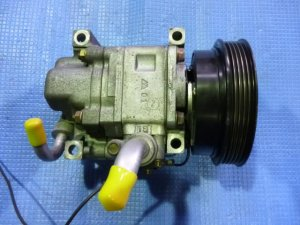 Компрессор кондиционера на Mazda Premacy CP8W FP-DE