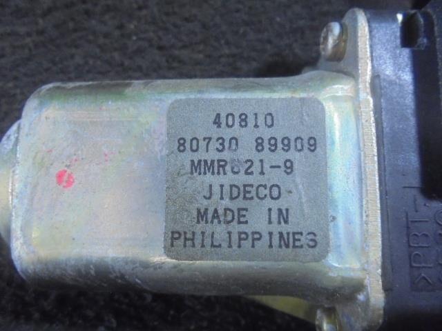 Стеклоподъемный механизм на Nissan Primera TP12 QR20DE