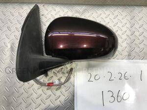 Зеркало двери боковой на Toyota Passo KGC30 1KRFE