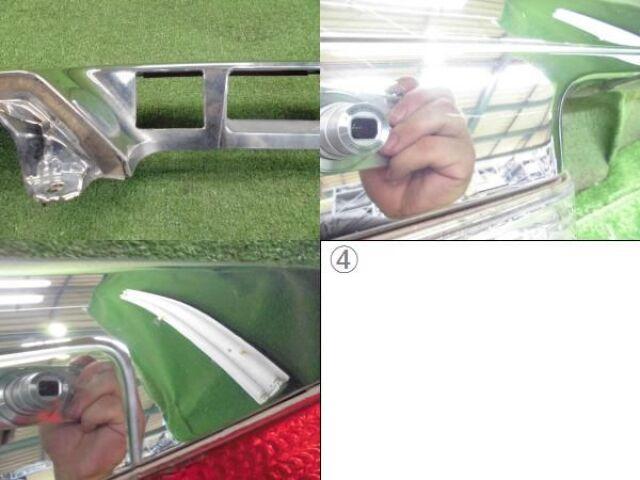 Стоп-планка на Toyota Alphard ANH10W