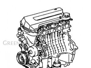 Двигатель на Toyota Avensis ZZT251L
