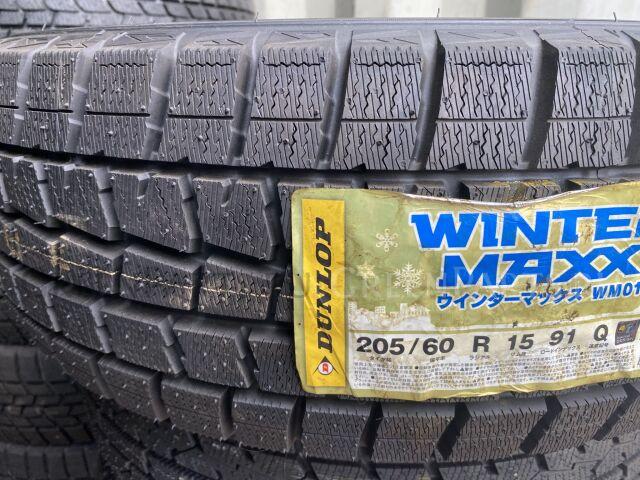 шины Япония Dunlop Winter Maxx WM01 205/60R15 зимние
