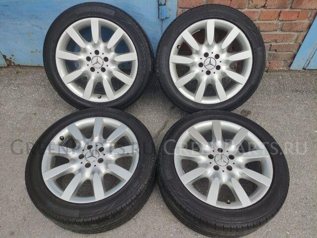 шины Dunlop Veuro VE303 255/45R17 летние на дисках Mercedes W221 R18