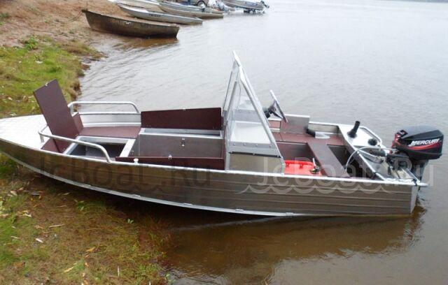 лодка WYATBOAT-390 M с консолям 2018 г.