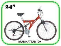велосипед ALPHA MANHATTAN DX 24