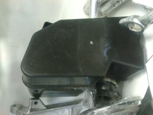 Корпус воздушного фильтра на JAWA 350