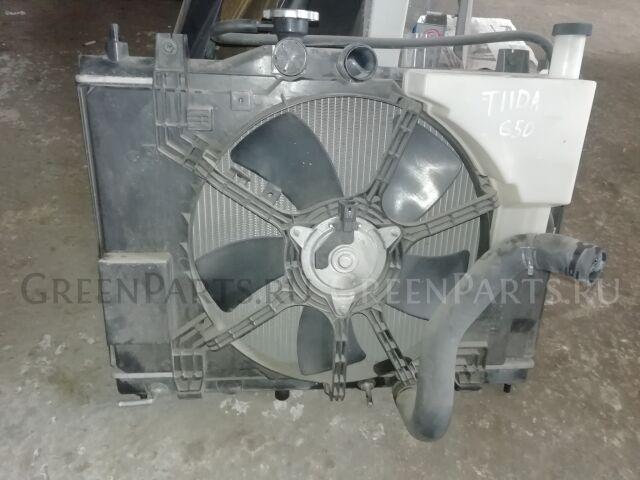 Радиатор основной на Nissan Tiida 11 HR15