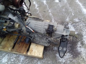 Кпп автоматическая на Subaru Forester SG5 EJ205 TV1B5MBYAC
