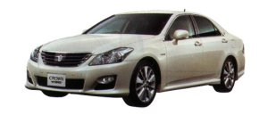 TOYOTA CROWN HYBRID 2008 г.