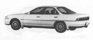 TOYOTA CORONA EXIV 1990 г.
