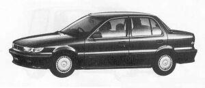 MITSUBISHI MIRAGE 1990 г.